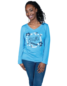 Womens Long Sleeve Valerie V-Neck